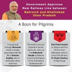 New Railway Line Project between Bahraich and Khalilabad